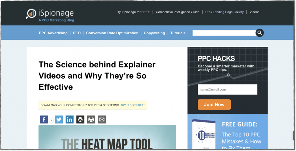 Content Marketing Examples - Blog Post